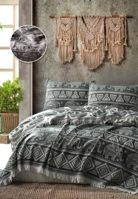 Покрывало ELEPHANT BED SPREAD цвет черный (BLACK)				205x240