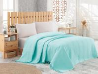 Покрывало NICE BED SPREAD цвет бирюзовый (TURQUOISE)				180x240